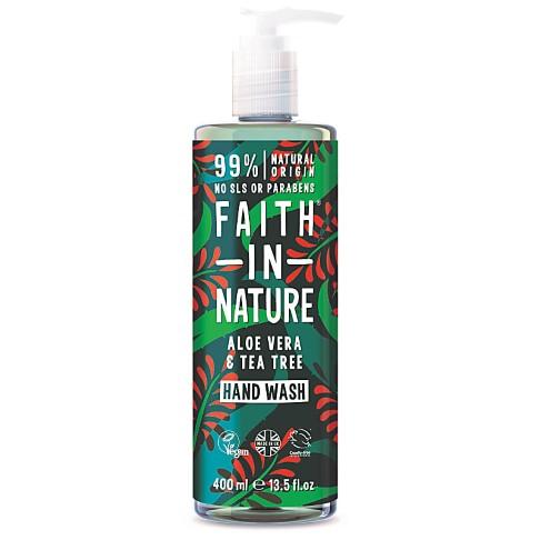 Faith in Nature Handzeep Aloë Vera & Tea Tree - 400ml