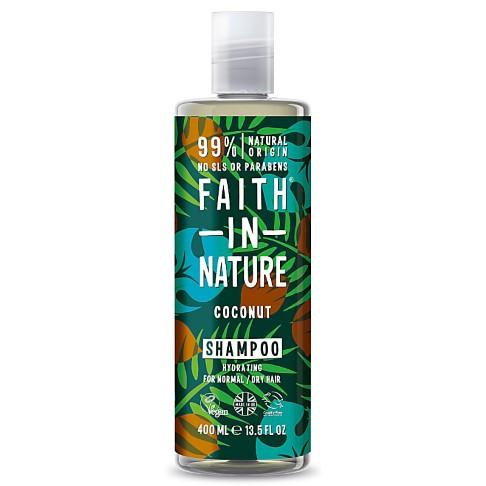 Faith in Nature Kokos Shampoo (voor alle haartypes)
