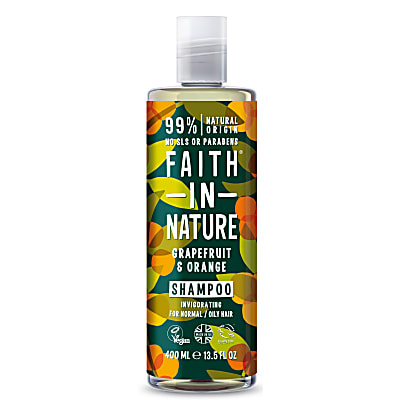 Faith In Nature Grapefruit & Sinaasappel Shampoo (normaal tot vet haar)