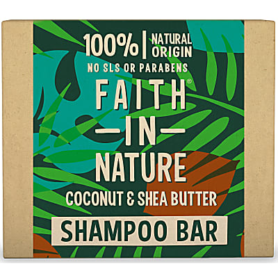 Faith in Nature Kokosnoot & Sheaboter Shampoo Bar
