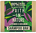 Faith in Nature Lavendel & Geranium Shampoo Bar