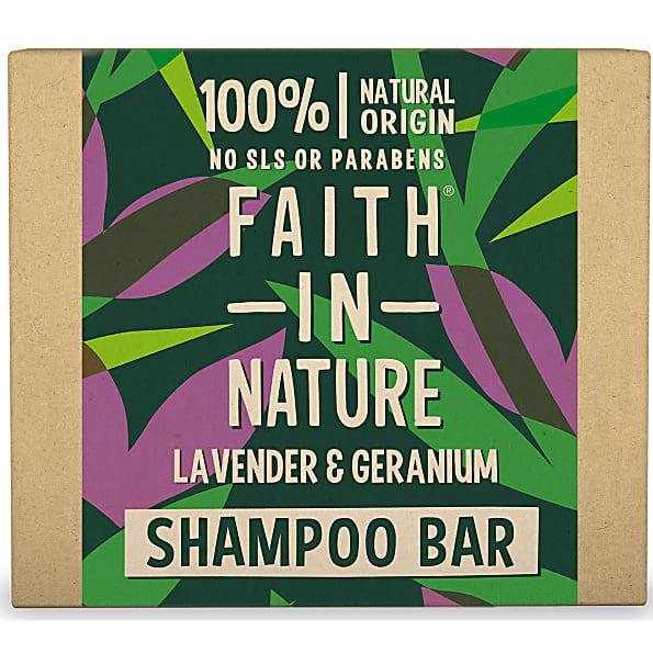 Faith in Nature Lavendel & Geranium Shampoo Bar