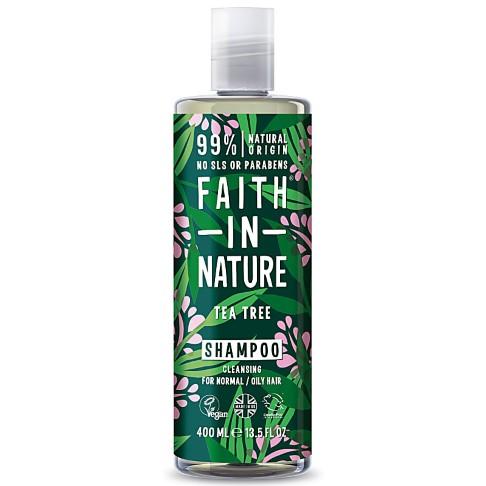 Faith in Nature Tea Tree Shampoo (normaal tot vet haar)