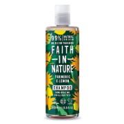 Faith in Nature Kurkuma & Citroen Shampoo 400ml (glans)