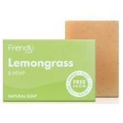 Friendly Soap Badzeep - Citroengras & Hennep
