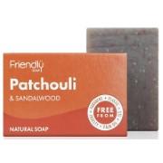Friendly Soap Badzeep - Patchoeli & Sandelhout