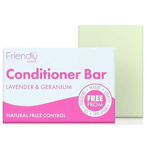 Friendly Soap Conditioner Bar - Lavendel & Geranium