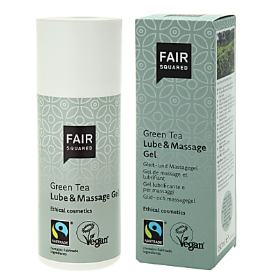 Fair Squared Glijmiddel & Massage Gel Green Tea 150 ml