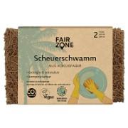 Fair Zone Schuurspons van Kokosnootvezels (set van 2)