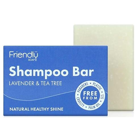 Friendly Soap Shampoo Bar - Lavendel & Tea Tree