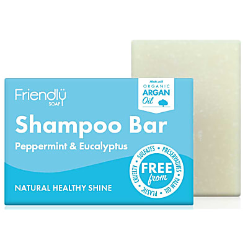 Friendly Soap Shampoo Bar - Pepermunt & Eucalyptus