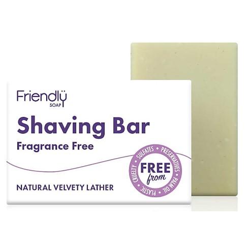 Friendly Soap Scheerzeep Bar - Parfumvrij
