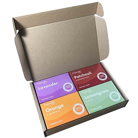 Friendly Soap Set van Plasticvrije Zeepbars