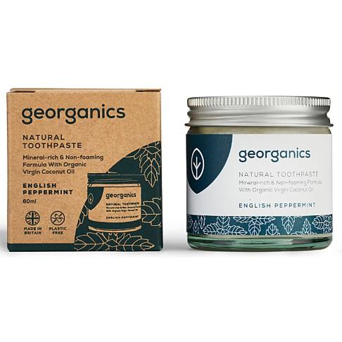 Georganics Mineraalrijke Tandpasta - Engelse Pepermunt