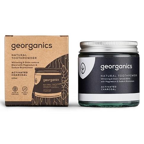 Georganics Natuurlijk Tandpoeder - Geactiveerde Houtskool
