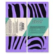 Groovy Goods Ecologische Sponsdoek Zebra Purple