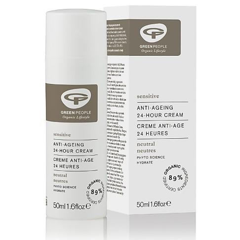 Green People Sensitive Parfumvrije 24uur crème