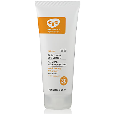 Green People Zonnecrème SPF 30 200 ml (zonder geurstoffen)
