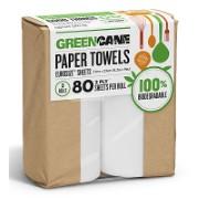 Greencane 2 Ply Keukenpapier (70 Vellen) 2 Rollen