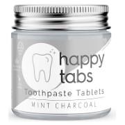 Happy Tabs Tandpasta Tabletten Houtskool (fluoridevrij)