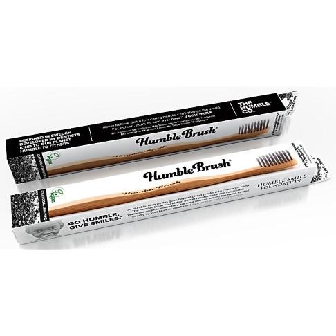 Humble Tandenborstel met Houtskool