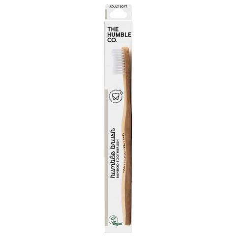 Humble Tandenborstel Bamboe Wit