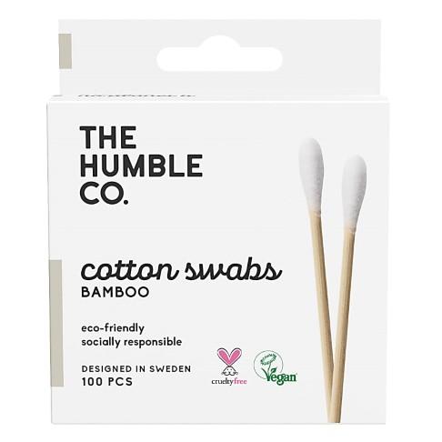 Humble Natuurlijke Wattenstaafjes - Wit (100 pcs)