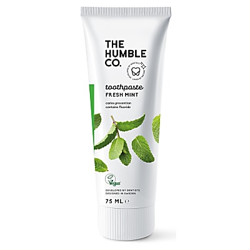 Humble Natuurlijke Tandpasta met Fluoride - Fresh Mint 75ml