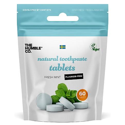 Humble Tandpasta Tabletten zonder Fluoride (60 tabletten)
