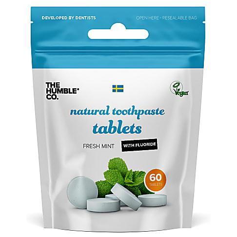 Humble Tandpasta Tabletten met Fluoride (60 tabletten)