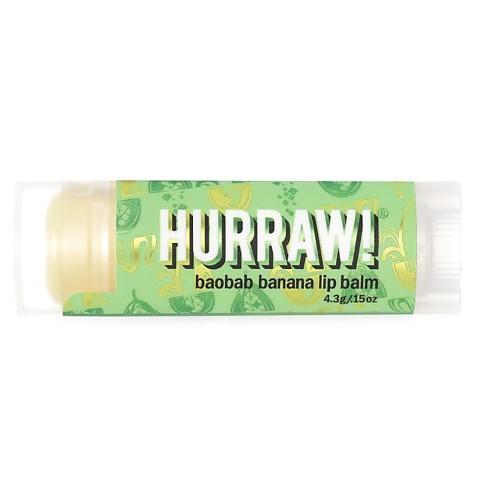 Hurraw Boabab Banana Lip Balm