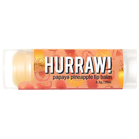 Hurraw Papaja Ananas Lippenbalsem