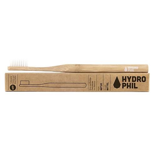 Hydrophil Bamboo Tandenborstel Natural Medium Soft