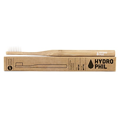 Hydrophil Bamboo Tandenborstel Natural Medium Soft