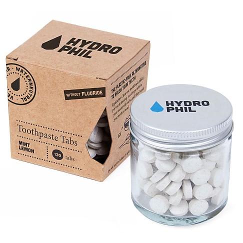 Hydrophil Tandpasta Tabletten Munt Limoen (zonder fluor)