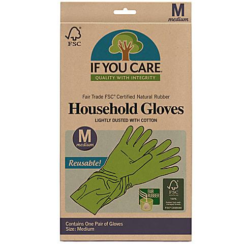If You Care Fairtrade Rubber Latex Handschoenen