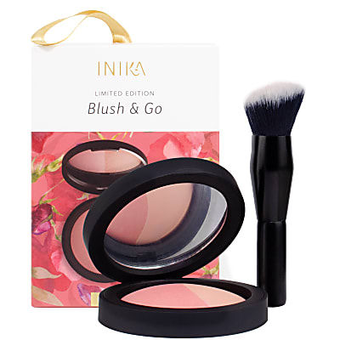 INIKA Blush & Go Limited Edition - Peach