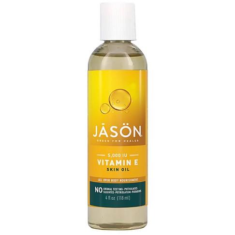 Jason Organic Vitamin E 5000IU Oil (fijne lijntjes)