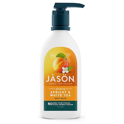 Jason Natural Body Wash - Abrikoos (met gloed)
