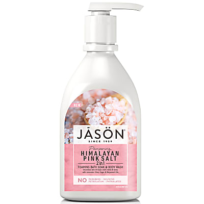 Jason Himalayan Pink Salt 2-In-1 Foaming Bath Soak & Body Wash