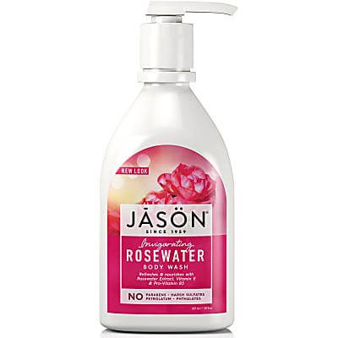 Jason Natural Body Wash - Rozen (verkwikkerd)