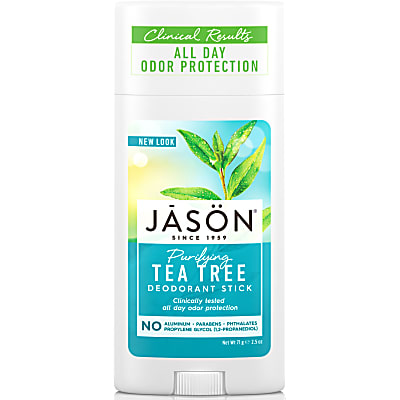 Jason Natural Deodorant Stick - Tea Tree