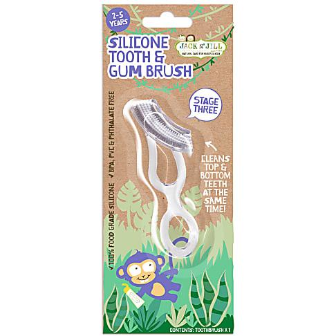 Jack N' Jill Silicone Tanden- en Tandenvleesborstel (2 tot 5 jaar)