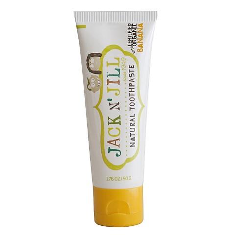 Jack N' Jill Natuurlijke Organische Tandpasta - Banaan