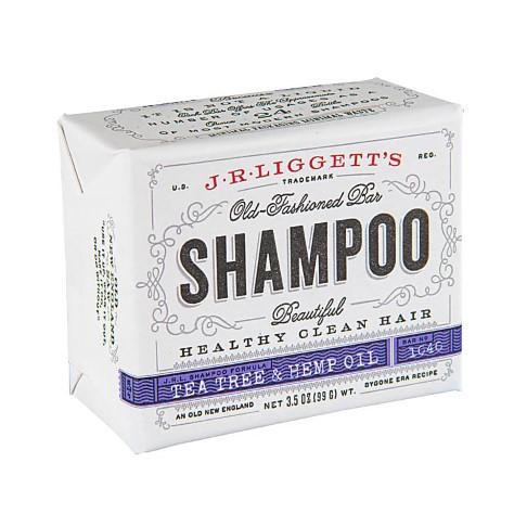 J.R. Liggett's Tea Tree & Hennep Olie Shampoo Bar