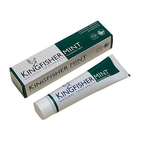 Kingfisher Mint Tandpasta - Fluoride Vrij