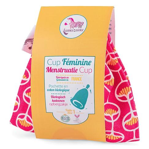 Lamazuna Menstruatiecup Roze - Maat 1