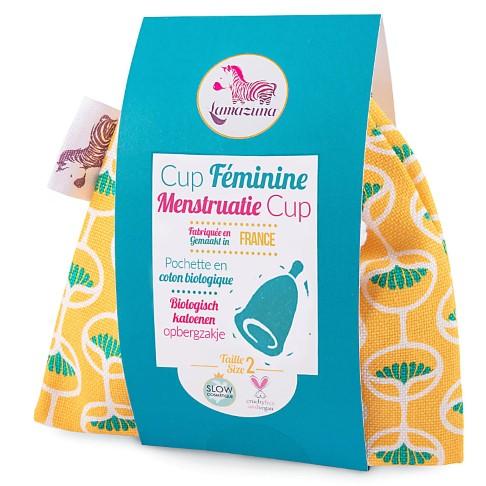 Lamazuna Menstruatiecup Geel - Maat 2