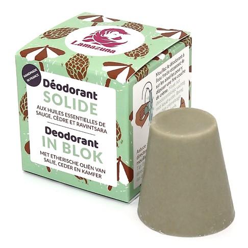 Lamazuna Deodorant Blok - Salie & Ceder