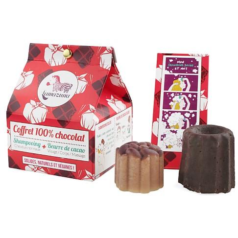 Lamazuna 100% Chocolade Koffer (shampoo & cacaoboter)